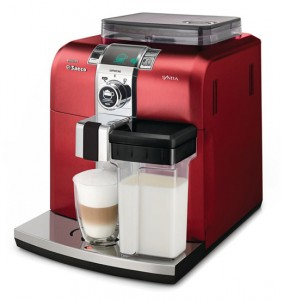 кофемашина Philips Saeco Syntia Cappuccino Premium Red